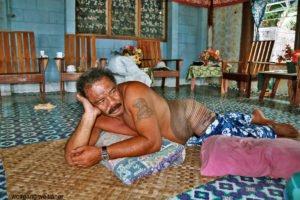 Tätowier-Kunst, Savaii, Samoa