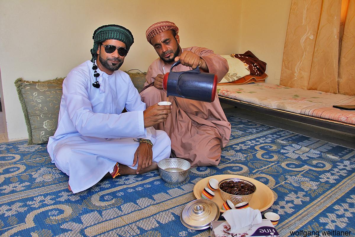 Teezeremonie Oman