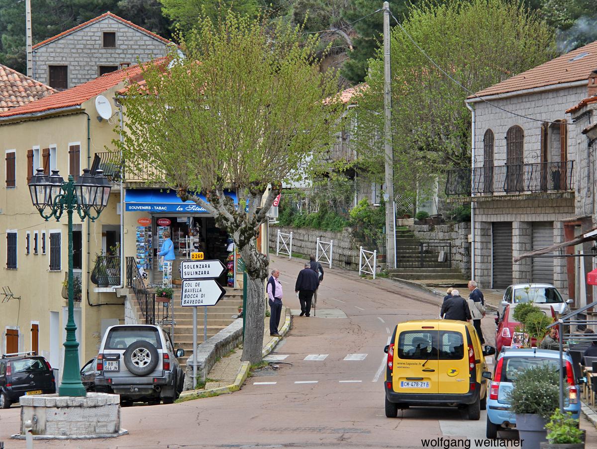 Zonza, Col de Bavella, Korsika, Frankreich
