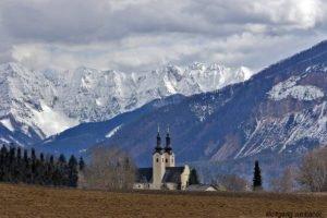 Wallfahrtskirche Maria Rain, Kärnten, Österreich