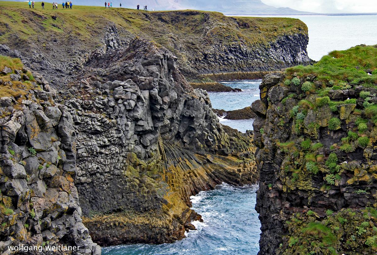 Auf der Fahrt um die Halbinsel Snæfellsnes, Island