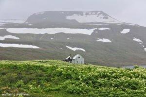 Fischerdorf Hesteyri, Westfjorde, Island