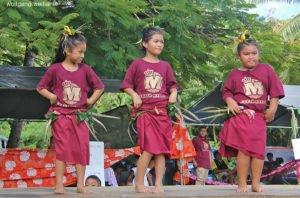 Dorffest im Makefu Village, Niue, Südsee