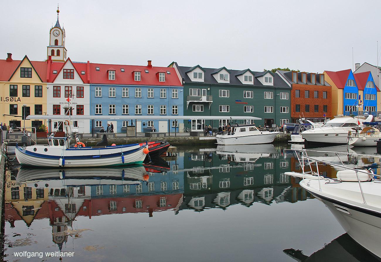 Torshavn Färöer