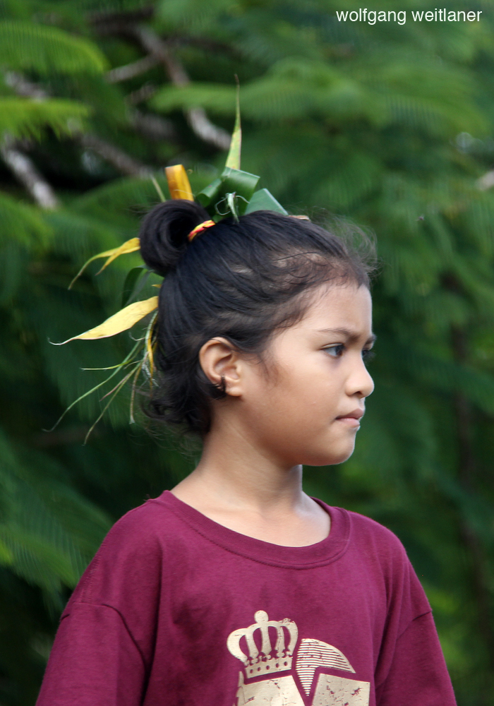Mädchen Niue