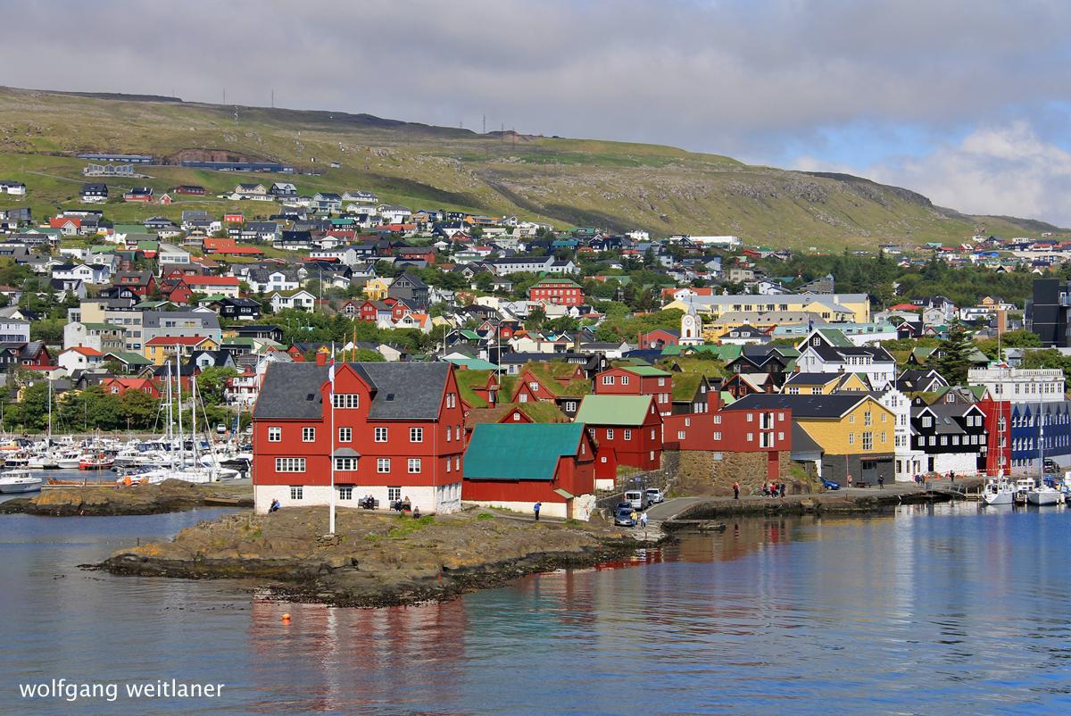 Altstadt von Tórshavn, Färöer Inseln