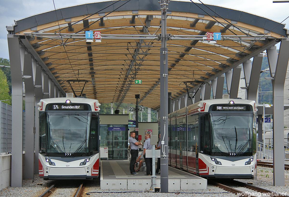 Straßenbahn in Gmunden, Traunsee, Oberösterreich