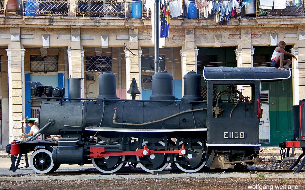 Platz nahe der Estacion Central, Havanna, Kuba