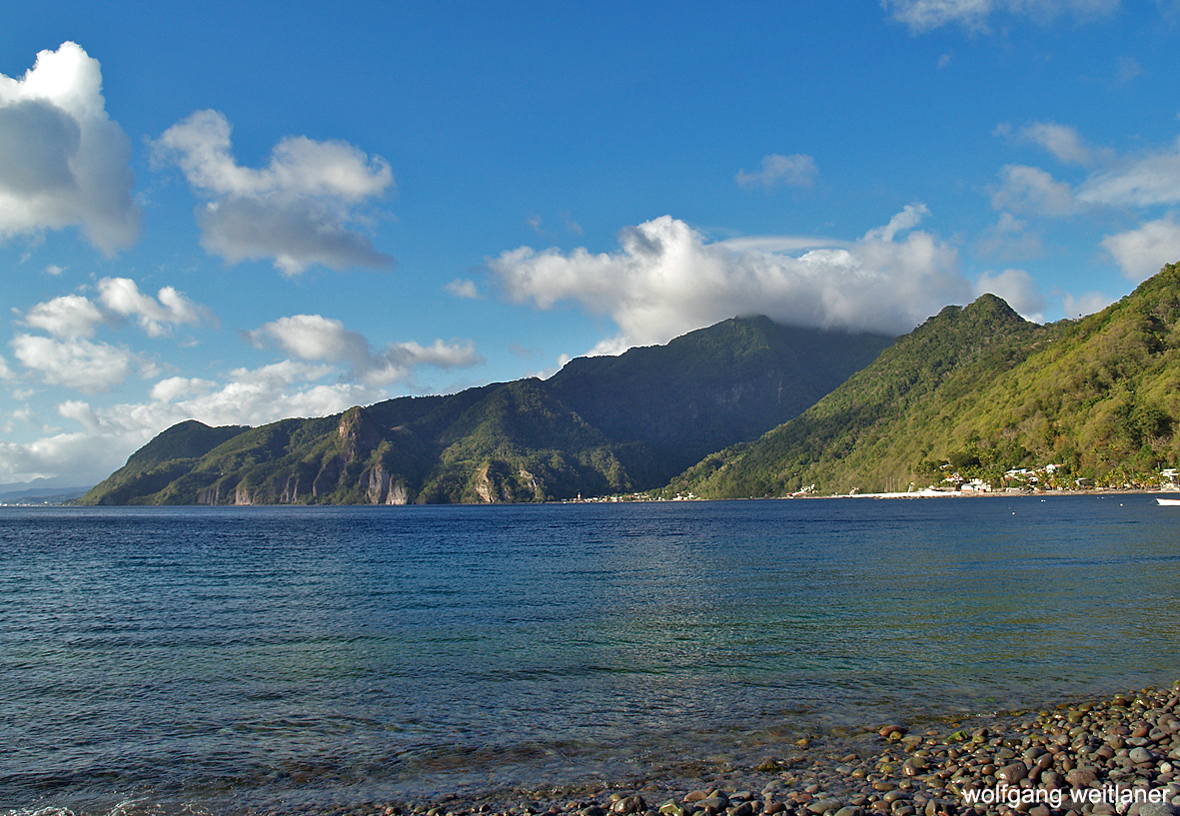 Soufriere Bay, Dominica, Karibik