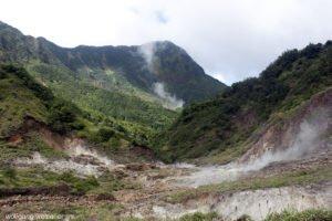 Valley of Desolation, Morne Trois Pitons National Park, Dominica, Karibik
