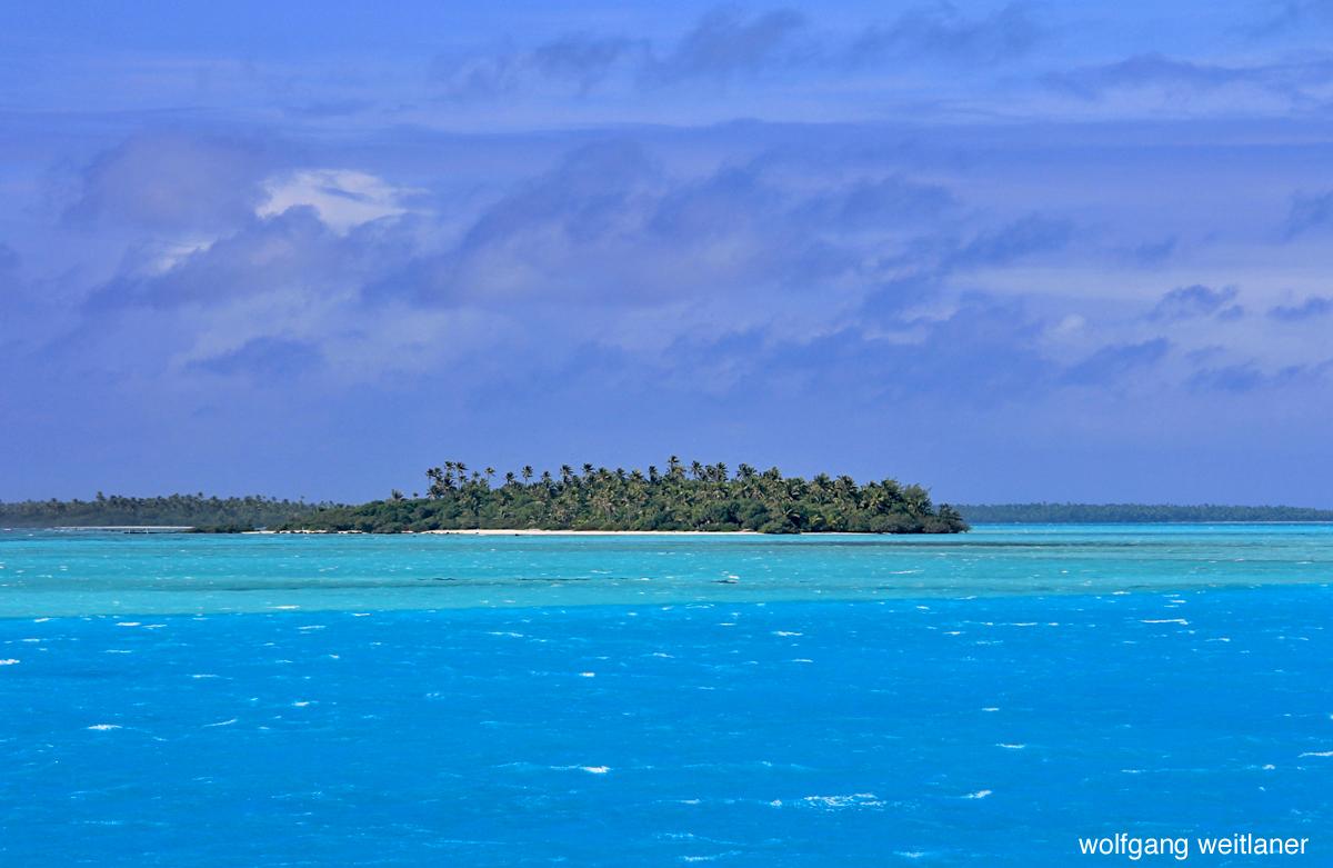 Winterreise: Lagune von Aitutaki, Cook Inseln, Südsee