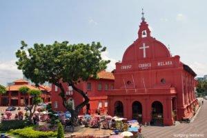 Christuskirche in Melaka, Melaka, Malaysia