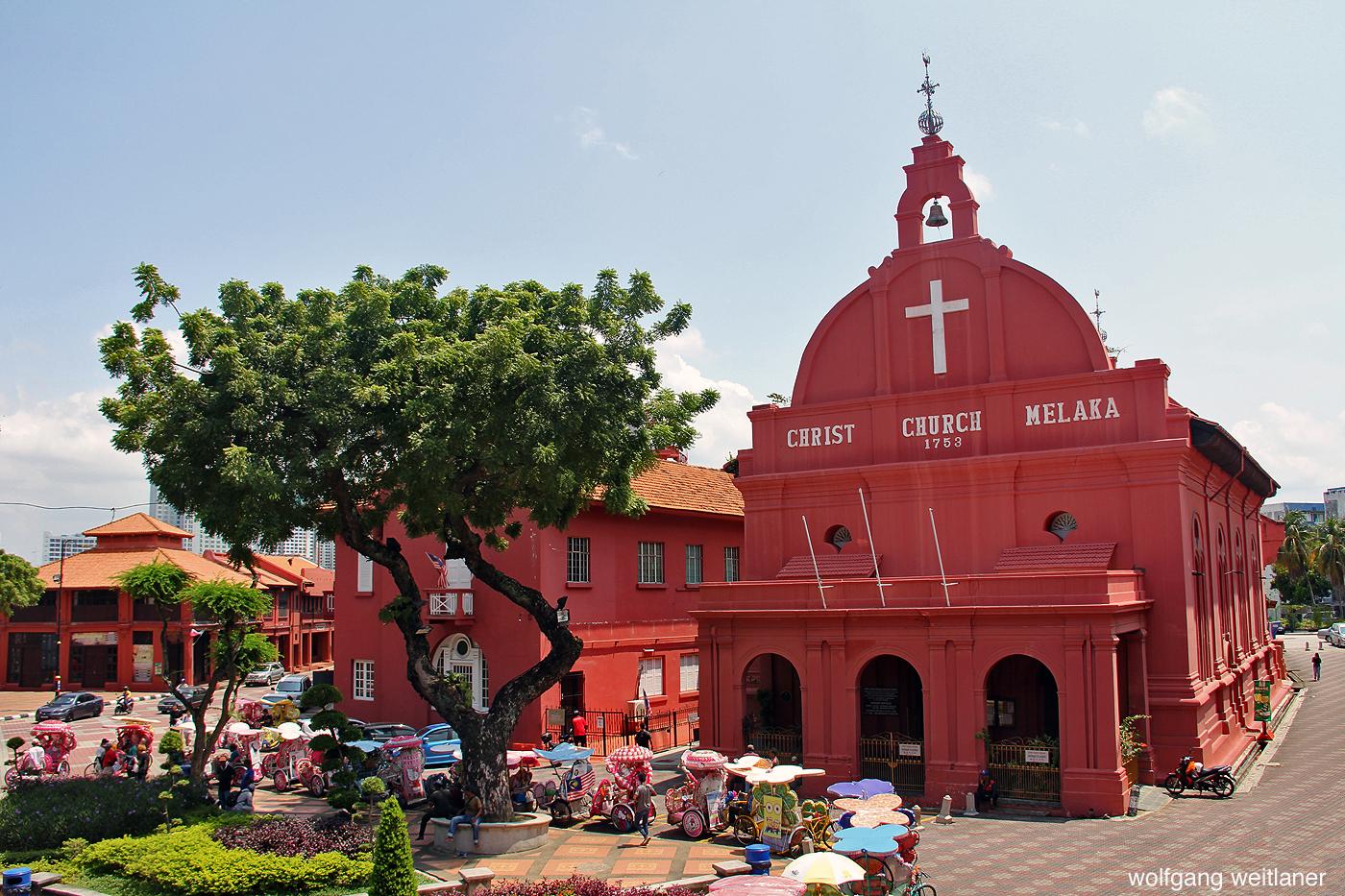 Roter Platz Melaka