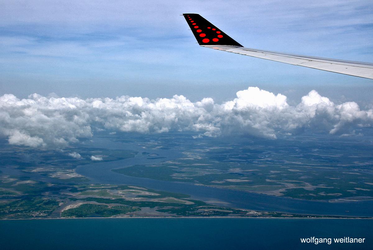 Die Welt von oben: Senegal-Gambia-Grenzregion, Westafrika