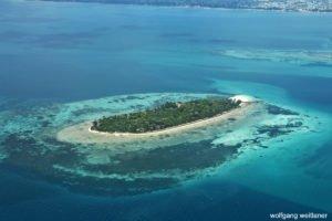 Die Welt von oben: Anflug auf Sansibar, Tansania