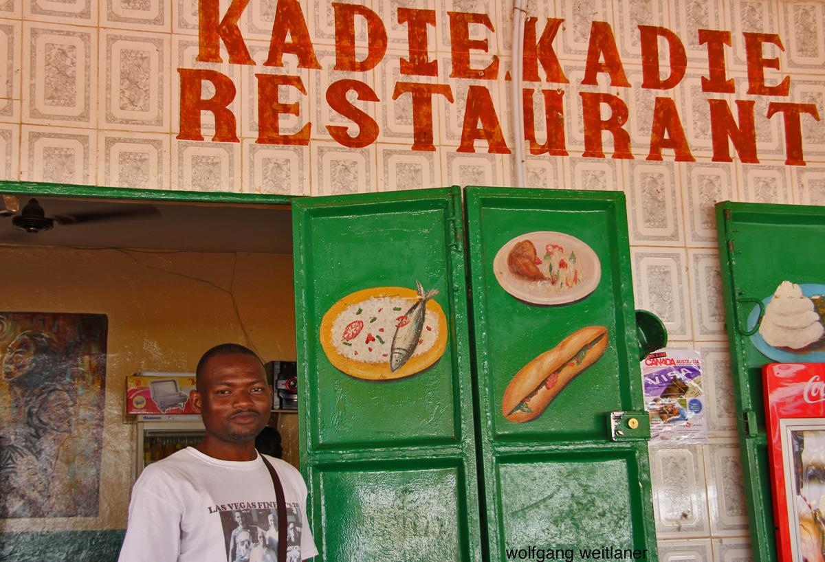 Restaurant-Besitzer, Serekunda, Gambia