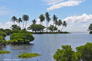 Lagune auf Savaii, Samoa