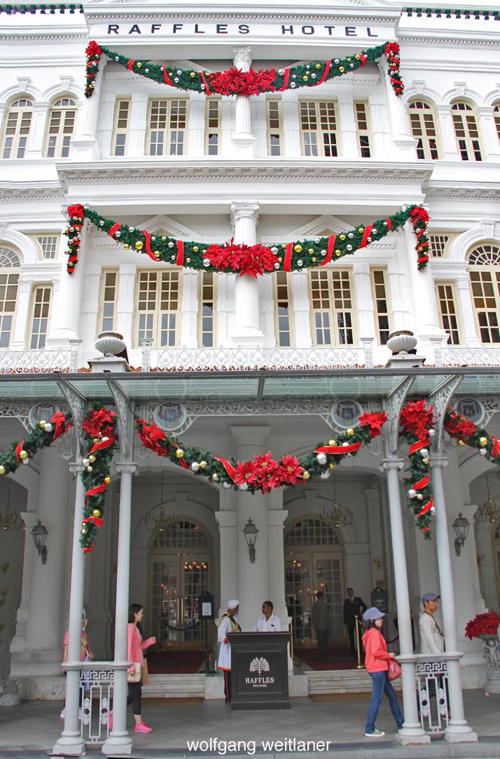 Weihnachten im Raffles Hotel Singapur, Singapur