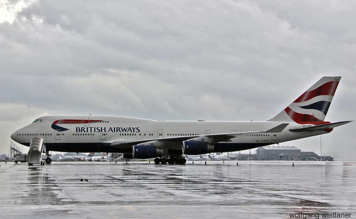 B 747-400 Jumbo jet