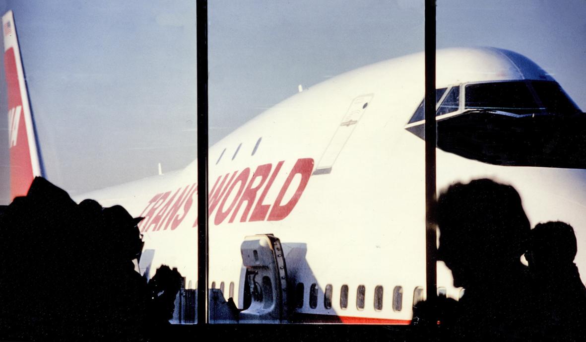 B747 Jumbo jet