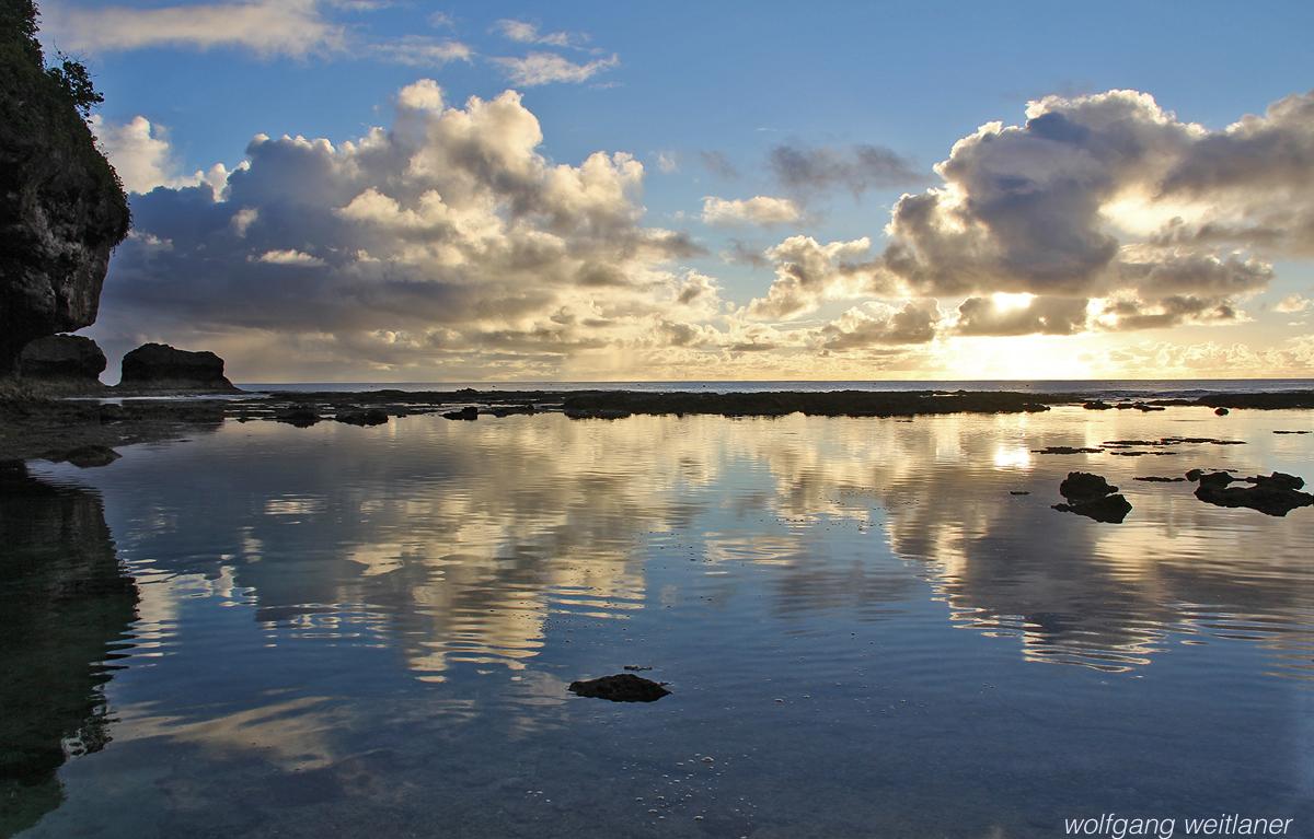 Sonnenuntergang über Niue
