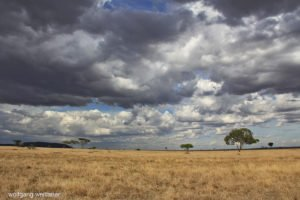 Himmel über der Serengeti, Serengeti-Nationalpark, Tansania