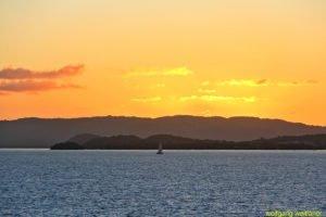 Morgenhimmel über Martinique, Französische Antillen