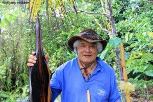 Geschichtenerzähler und Guide Lofa Misa, Niue, Südpazifik