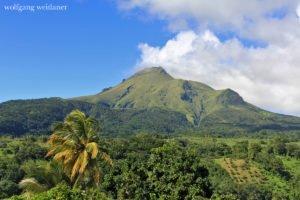 Mont Pelée, Martinique, Französische Antillen, Karibik