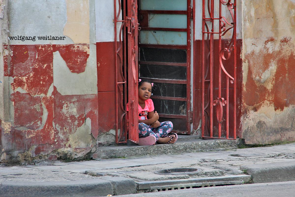 Kinder -Havanna -Kuba