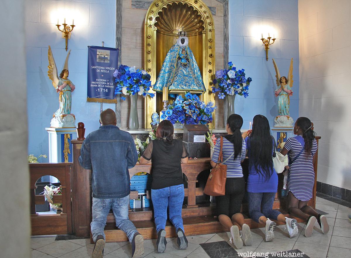 Virgen de Regla, Iglesia de Nuestra Senora de Regla, Ciudad de la Habana, Kuba