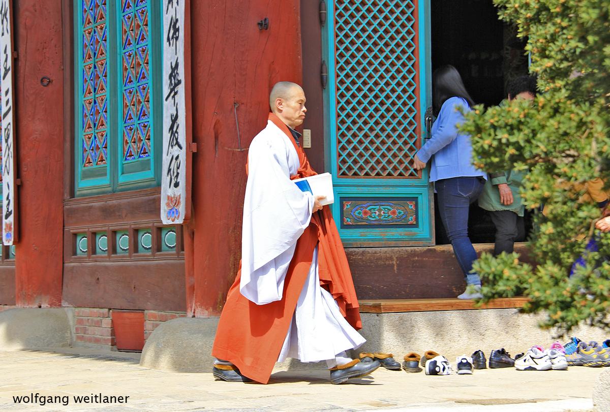 Woljeongsa Tempel - Korea