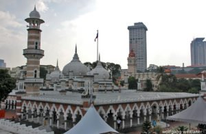 Masjid Jamek Moschee, Kuala Lumpur, Malaysia
