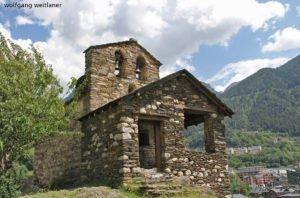 Església Sant Romà de les Bons, Encamp, Andorra
