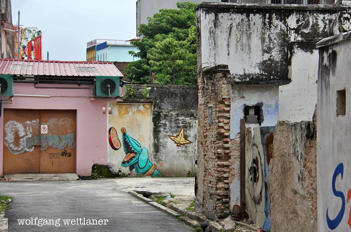 Street-Art Penang, Malaysia