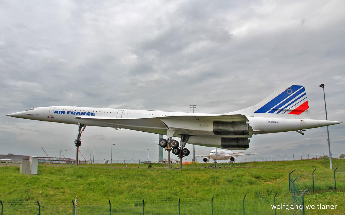 Concorde -CDG Paris