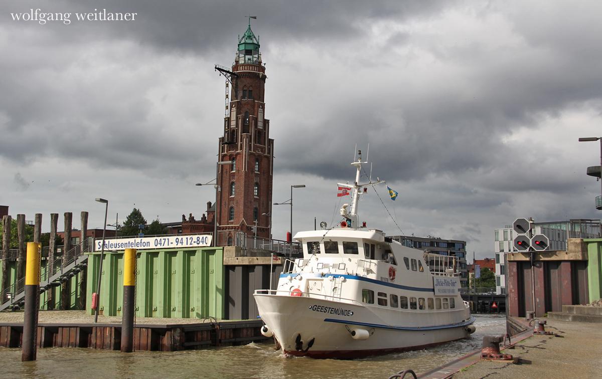 Leuchttürme in Bremerhaven, Deutschland