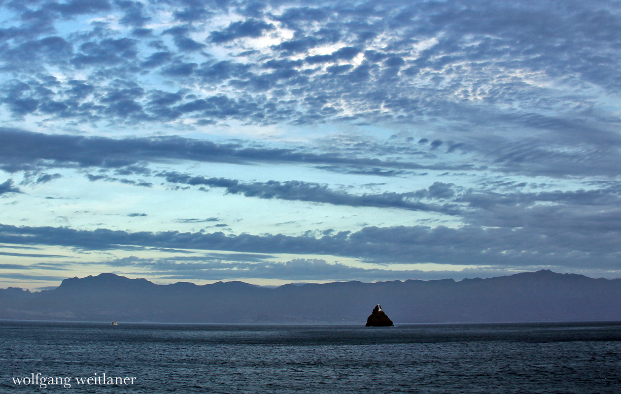 Ilhéu dos Pássaros, Leuchtturm im Hafen von Mindelo, Kapverden