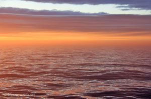 Mitternachtssonne, Nordatlantischer Ozean