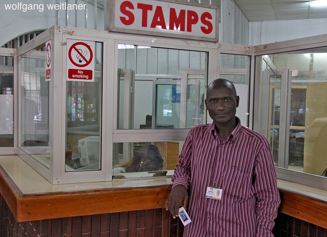 Auf der Hauptpost Banjul, Banjul, Gambia, Westafrika