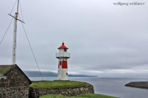 Leuchtturm Skansin, Tórshavn, Färöer Inseln