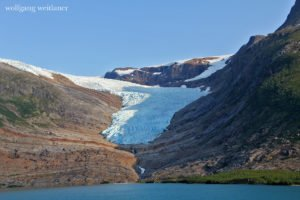 Svartisen-Gletscher, Provinz Nordland, Norwegen