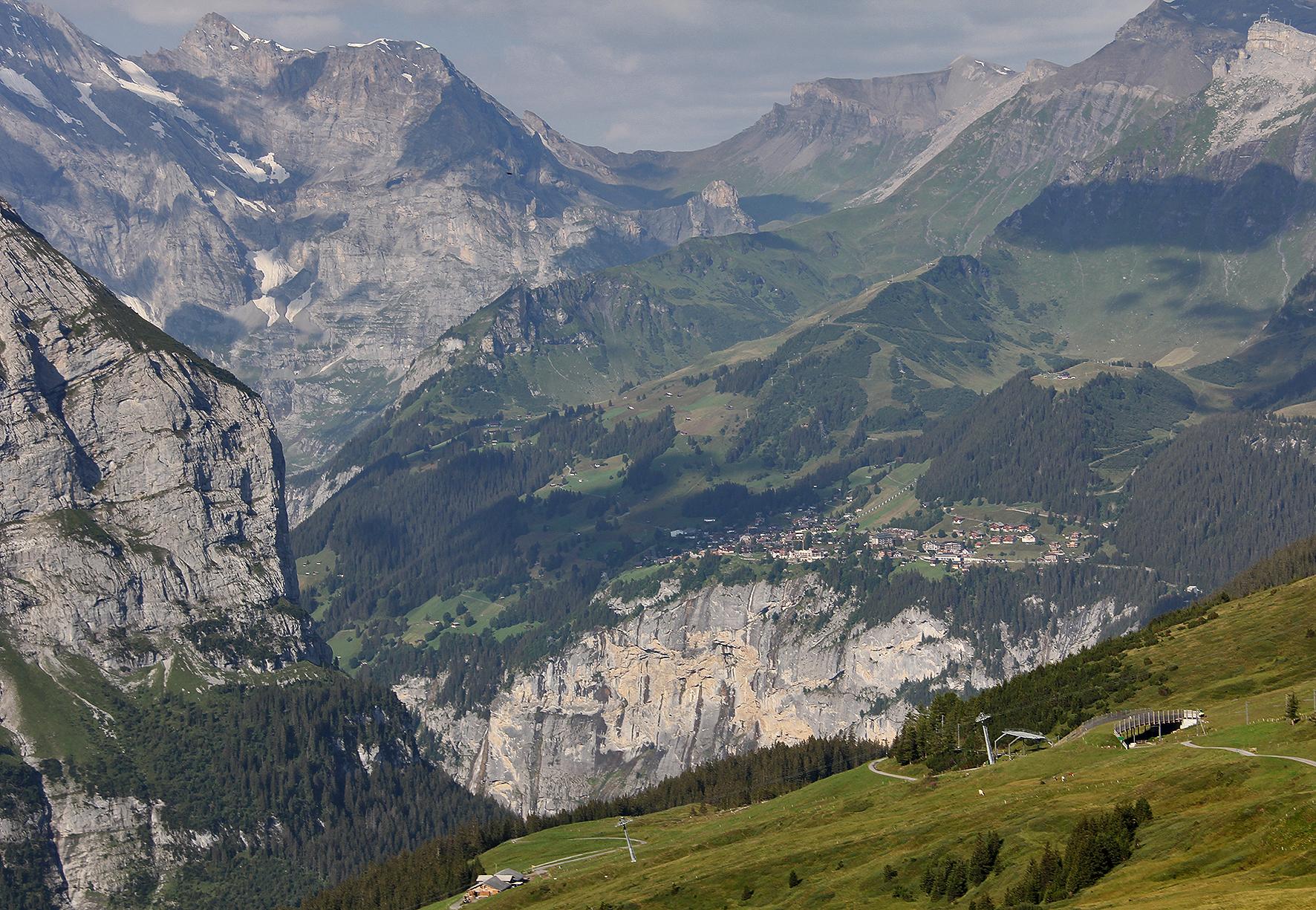 Mürren, Berner Oberland, Schweiz