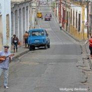 Sänger in Santiago de Cuba